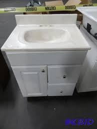 bathroom vanity with sink 25 x 19 x 36