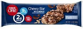 oats chocolate chewy bars fiber one