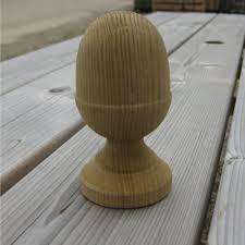 Acorn Post Cap 63mm Garden Fencing Woodensupplies Uk Wooden Supplies