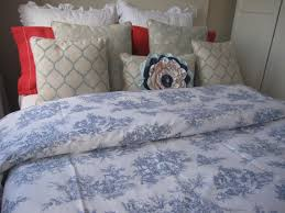 toile duvet cover french country toile