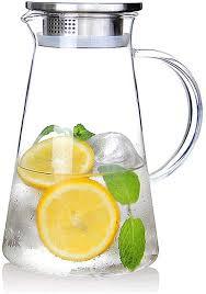 2 0 liter 68 ounces glass pitcher