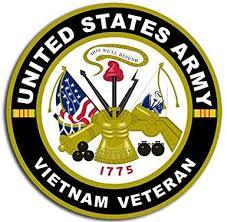 Amazon Com Magnet 4x4 Inch Us Army Vietnam Veteran Sticker Decal Military Troops Vet Serve Magnetic Vinyl Bumper Sticker Sticks To Any Metal Fridge Car Signs Kitchen Dining
