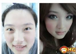 22 before and after makeup asian s