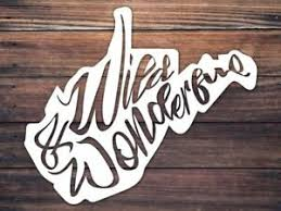 West Virginia Car Window Decal Wild And Wonderful Decal Wv Home Roots Ebay
