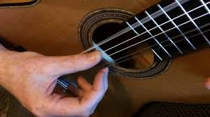 no nails clical guitar technique