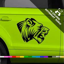 Tiger Car Decal Stripes Truck Or Bumper Sticker Etsy