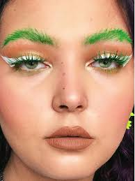 matching your eyebrows and eye makeup