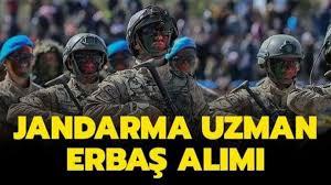 Jandarma personel temin sayfası: Jandarma Genel Komutanlığı uzman ...