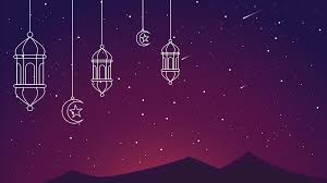 خلفية بوربوينت اسلامية بها زخارف رمضانية ادركها بوربوينت