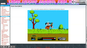 Duck Hunt (NES) - Unblocked Games Online - YouTube