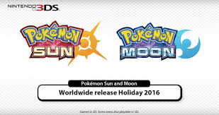Pokémon Sun' and 'Moon' hit the Nintendo 3DS this holiday
