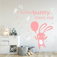 bunny nursery decor somebunny loves