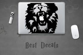 Lion Sticker Decal For Laptop Macbook Ipad Iphone 3ds Ps4 Xbox Etsy