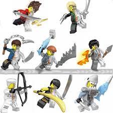 Sheng Yuan 676 SY676 (NOT Lego Ninjago Movie Skeleton Version Of ...