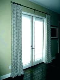 french patio doors with blinds