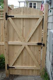 Exterior Decorating Charming Fence Gate Designs To Take Into Protect Your Home Naturally Fence Gate De Fence Gate Design Wooden Gate Designs Wood Fence Gates