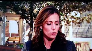 NBC News' Hallie Jackson had a bogey dripping from her nose during ...