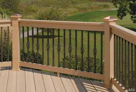 Amazing Decorative Deck Railings With Railing Ideas Decks Image Metal Panels Wood Home Elements And Style Balcony Porch Designs Exterior Crismatec Com