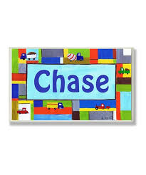 The Kids Room By Stupell Transportation Personalized Wall Art Zulily