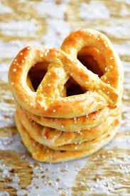 two ing dough soft pretzels