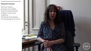Jennifer Cole, 2017-2018 Paris IAS fellow - YouTube