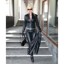 leather jumpsuit 39245465 the cute styles
