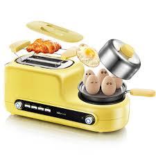 Lò nướng bánh mỳ kèm khay chiên trứng đa năng - Lò nướng bánh mì sandwich  Thương hiệu OEM