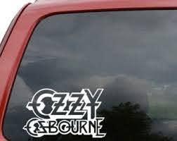 Ozzy Osbourne Band Stickers Custom Sticker Shop