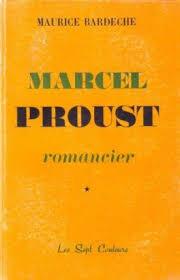 Marcel Proust romancier Tome 1 - Livre de Maurice Bardèche