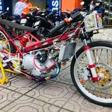 mau modifikasi motor untuk drag race