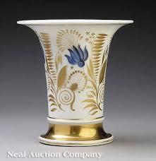 tucker porcelain vase at neal auction