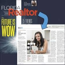 Sara Hayes, REALTOR® is Featured in the August 2017 Issue of Florida  Realtor Magazine - PR.com
