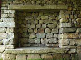 dry stack stone fireplaces superb