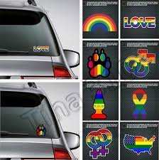 Hot Window Stickers Rainbow Gay Sticker Pride Rainbow Heart Sticker Bear Paw Rainbow Hand Night Reflective Car Decorative Stickers 4742 Window Cling Printer Window Cling Printing From Tina310 1 59 Dhgate Com