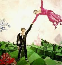 San Valentino e l'inno all'amore di Marc Chagall - Milano Post