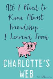 everything about friendship learned from charlotte wilbur