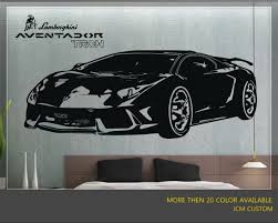 Aventador Sport Car Wall Decal 58 X 22 For Sale Online Ebay