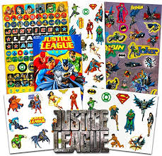 1 5 5 Inch Justice League Kids Room Decor Vinyl Wall Stickers Decals Superman