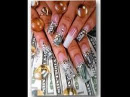 designer nails money nail tutorial