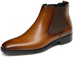 mens chelsea boots leather dress boots