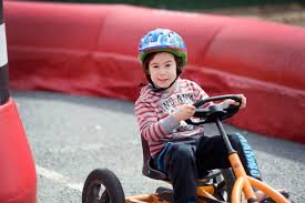 Pedal go-karts a hit with children in Mooroopna