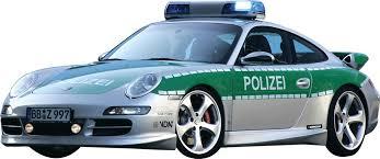 Police Car Ii Wall Decal Cutout