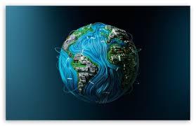 high tech earth ultra hd desktop