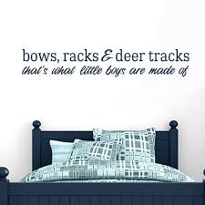 Shop Bows Racks And Deer Tracks 36 Inch X 6 Inch Vinyl Wall Decal Overstock 10575215