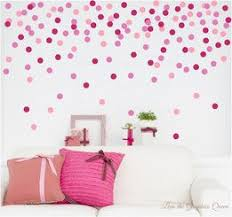 Dots Circle Shaped Wall Decals Set Of 50 Decals Nursery Kid Room Decor Kid Room Decor Room Decor Kids Bedroom Inspiration