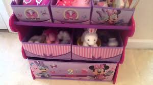 minnie mouse disney toy organizer