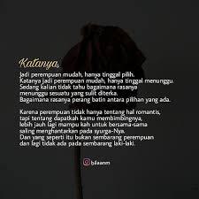 catatan cinta muslimah