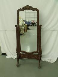 vintage full length mirror with images