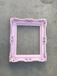 16x20 baby pink frame baroque mirror