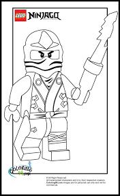 Ausmalbilder von Lego Ninjago in 2020